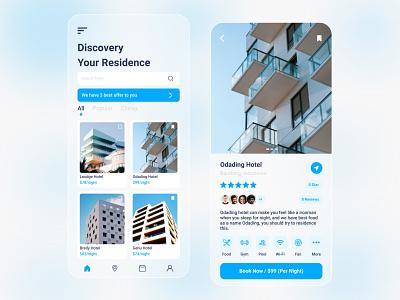 Hotel App exploration explore minimalist simple design booking hotel booking hotels hotel app hotel softui ui ux mobile ui mobile design mobile app design mobile app mobile design clean ui clean