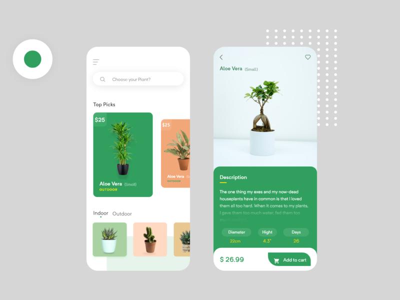 Plant Shop app