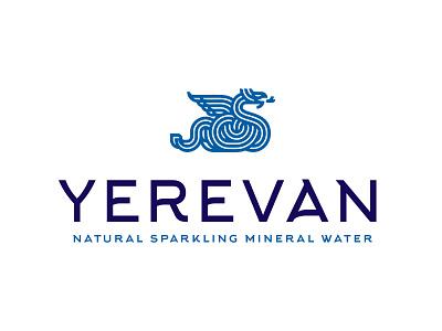 Yerevan water armenia yerevan logo water dragon