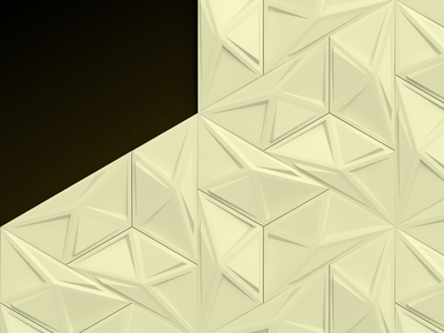 Presentation opener pattern ivory pattern triangles