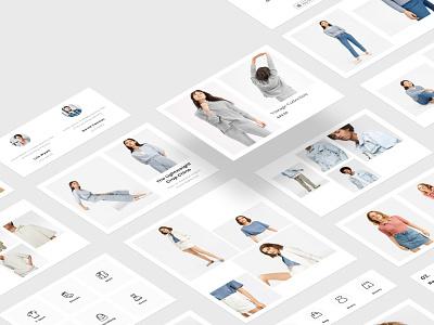 Feshto Fashion Email Modules web fashion website email template email ui email design ux design