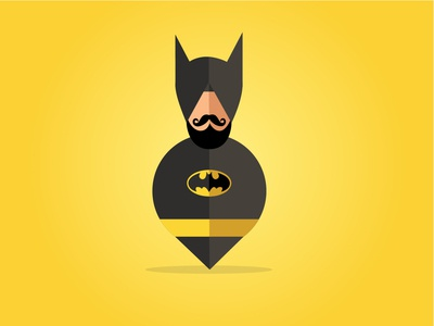 Batman Singh | Sikh Illustrations | Buntee
