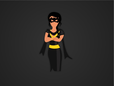 Indian Bat woman | Buntee