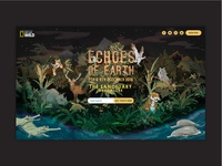 Echoes Of Earth Desktop Website | Music Festival
