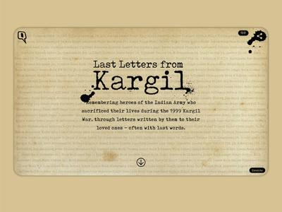 Letters From Kargil
