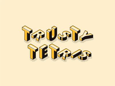 Logo for a New Tetris Game
