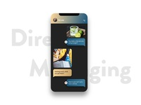 DailyUI #013 Direct Messaging