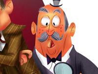 Sherlock and Watson (detail)