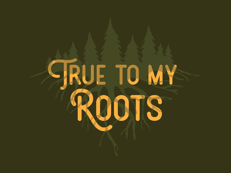 True to my Roots trees forest themeforest roots theconsciousbum.com theconsciousbum the conscious bum tervis earth mountains pine nature outdoor