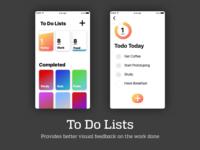 UI for a To Do Lists App