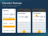 Daily UI : Calculator Redesign