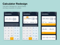 Calculator Redesign Take 2