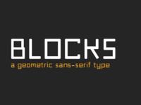 Blocks Typeface