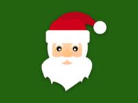 Minimalist Santa