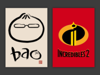 Minimalist Posters: Incredibles 2