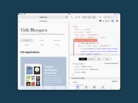 Safari Web Inspector for iPad