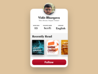 Daily UI Challenge: User Profiles