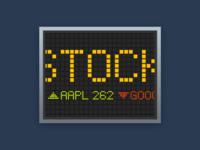 Stocks App Icon Concept