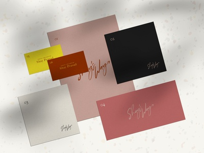 Shay Prasad Branding Palette