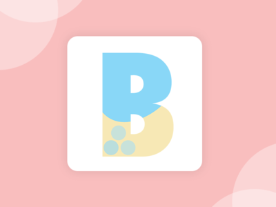 Daily UI #005 - Bubble Tea App Logo