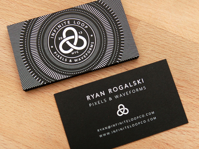 Infinite Loop Business Cards
