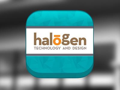 Halogen ios Icon halogen ios icon fav favorite web website