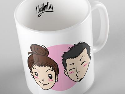Custom Avatar Mug vector face expression envato custom avatar