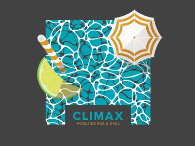Climax - Not Approved Work cocktail drinks bar lemon pool