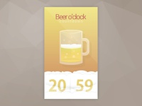 Friday Beer Countdown Timer