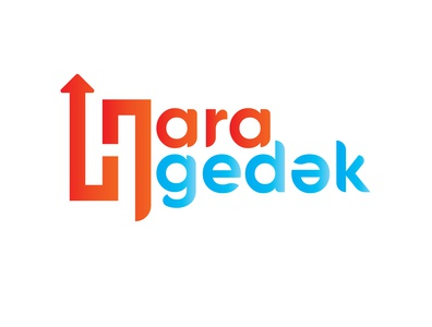 For Hara Gedək app vector typography logo illustration adobe design