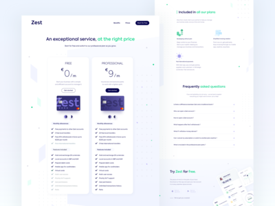 Zest • Full pricing page