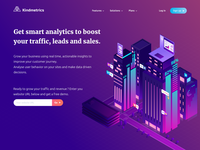 Kindmetrics - landing page exploration