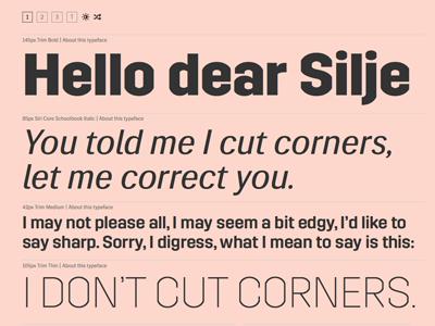 Sneak Preview 2 font typeface sweden