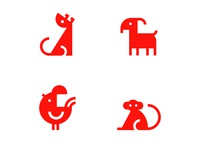Traditional Chinese Horoscope Animal Collection. Vol01