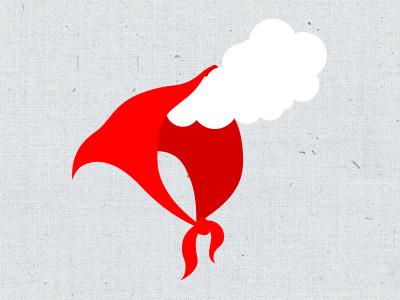Rookkapje logo chimney little red riding hood