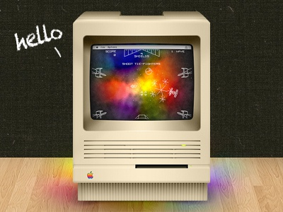 Macintosh SE/30 website preview 2 apple macintosh se30 se vintage classic mac low-end website