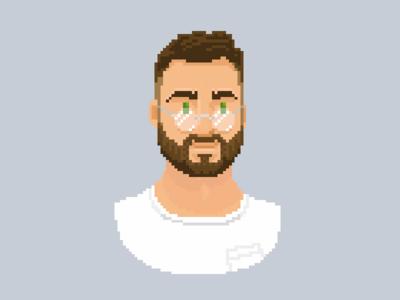 Pascal Pixel Portrait Colored - Lighting Corrections