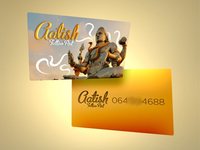 Shiva Tattoo contact card