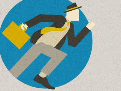 Europians eu european commision running man pioneer investor businessman business minimal logo