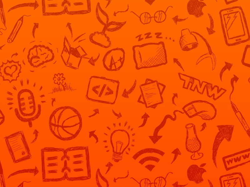 The Next Web Conference 2013 the next web tnw conference handdrawn sketches pattern