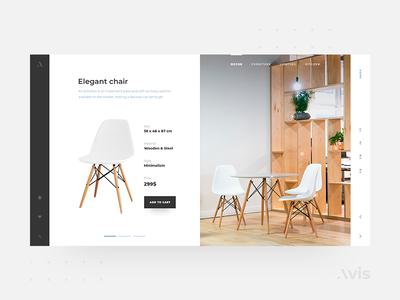 Main page template | Avis UI Pack