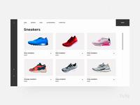 Catalog page template | Avis UI Pack