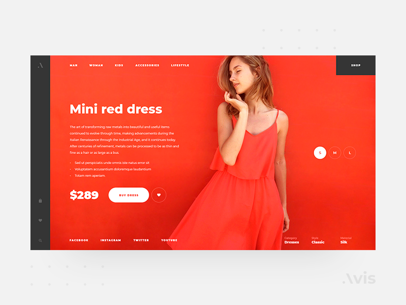 Product page template | Avis UI Pack products product page product website typography web  design web ux ui kits ui kit ui template minimal interface flat ecommence download design clean buy