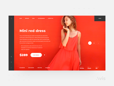 Product page template   Avis UI Pack