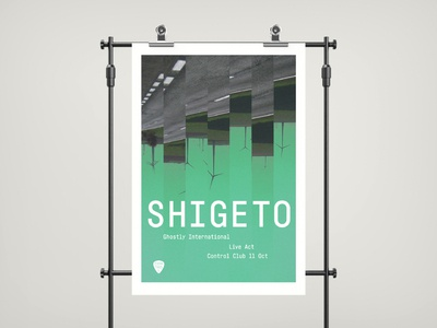ghostly international poster design
