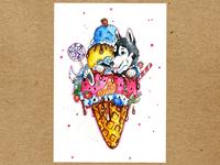 Ice-cream fantasy
