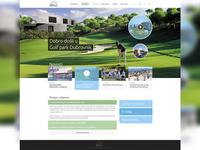 Golf park Dubrovnik WIP