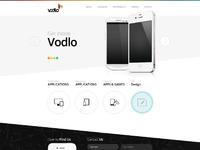Vodlo homepage