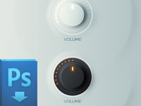 Knobs Free PSD