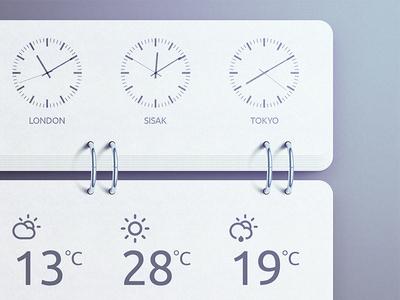 World Time Widget - PSD please? illustration world time widget photoshop metal ring psd